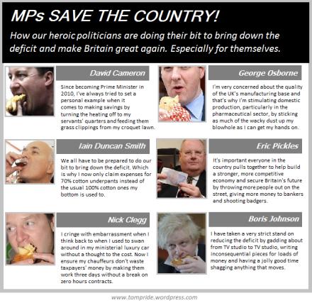 MPs bring down deficit